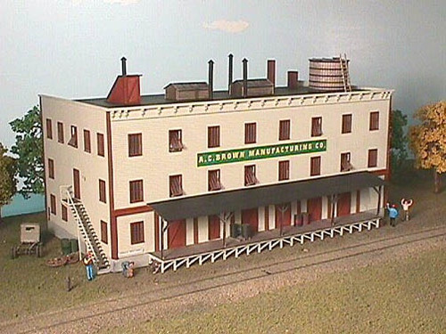 American Model Builders HO 715 A.C. Brown Manufacturing Company Kit