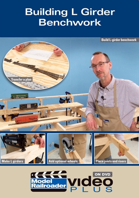 Kalmbach Publishing DVD 15317 Building L Girder Benchwork