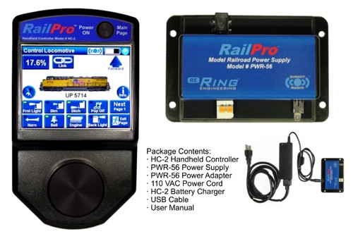 Ring Engineering RPK-1 RailPro Starter Kit with Wireless Color Touch Screen