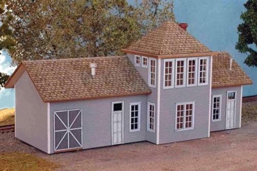 North Eastern Scale Models N 30022 Barnsboro Depot Kit (d)