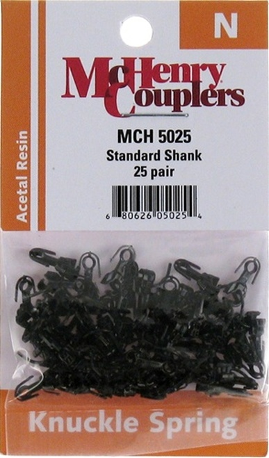 McHenry Couplers N 5025 Standard Shank Coupler (25 Pairs)