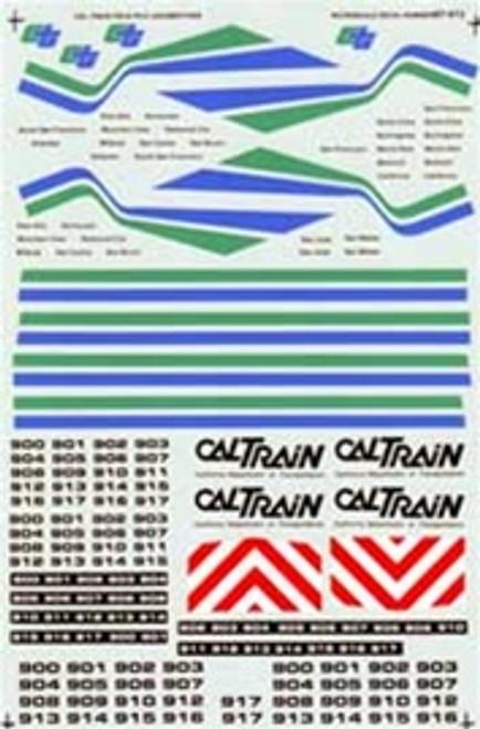 Microscale HO 87-0473 Cal Train F40PH-2 Diesels (1982-1997) (d)