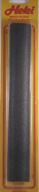 "Heki Insta-Road 6585 Dark Gray Sheet of Road Material (19"" x 9.5"")"