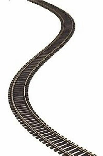 "Atlas HO 500-5 Code 83 36"" Super-Flex-Track with Wood Ties (5 Pieces)"