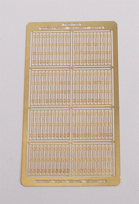 Gold Medal Models N 160-20 Storefront Security Gates (8 Sets in Two Sizes)