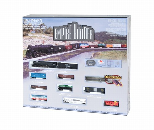 Bachmann N 24009 Empire Builder Set with E-Z Track, Santa Fe