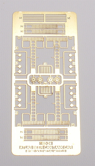 Gold Medal Models N 160-24 Atlas Beer Can Tank Car Detailing Set