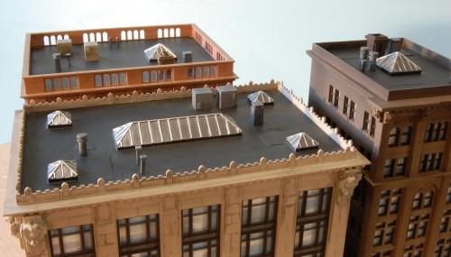 Custom Model Railroads HO 022 Roof Detail Kit #1