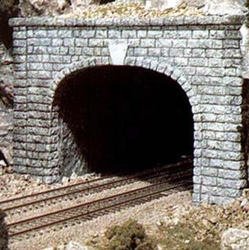 Woodland Scenics HO C1257 Cut Stone Double Track Tunnel Portal
