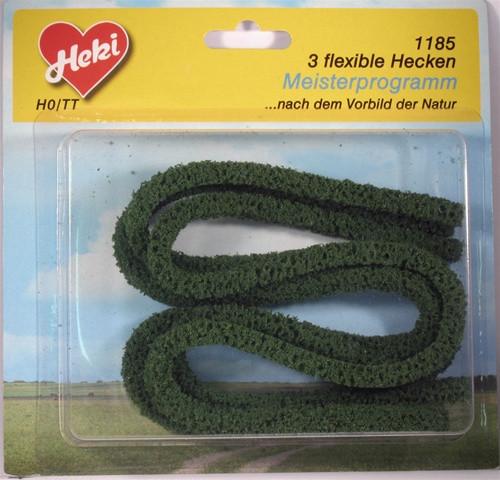 "Heki Trees and Shrubs 1185 Flex Hedge Row Dark Green (3/8"" x 3/8"" x 30"")"