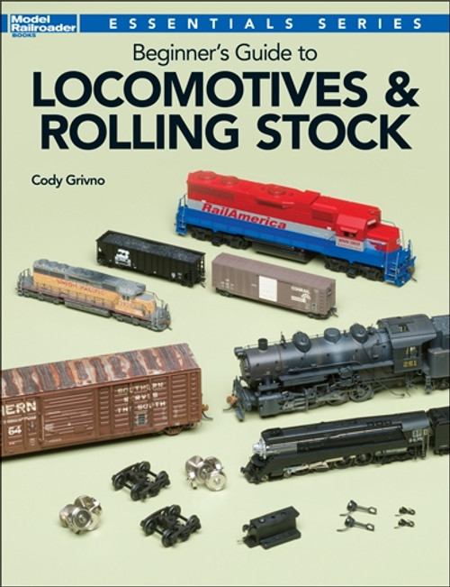 Kalmbach Publishing Softcover Book 12800 Beginner's Guide to Locomotives and Rolling Stock