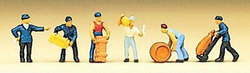 Preiser Z 88511 Delivery Men with Loads (6)