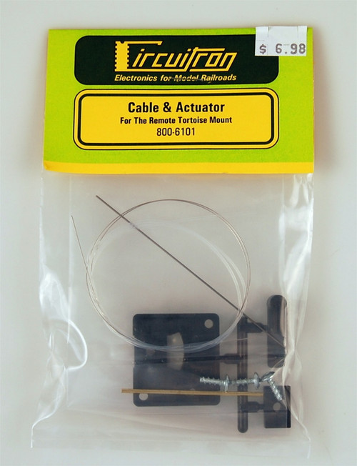 Circuitron 800-6101 Cable and Actuator for the Remote Tortoise Mount