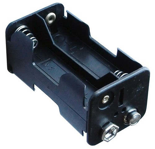 A.E. Corporation BH-446 Battery Holder with 9V Snaps for 4 AA Cells