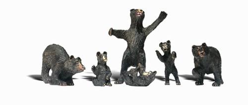 Woodland Scenics HO A1885 Black Bears