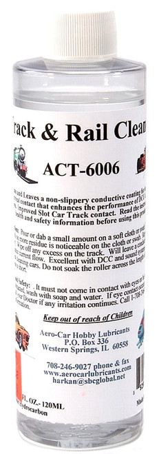 Aero Car Hobby Lubricants O ACT-6006 Track Cleaner