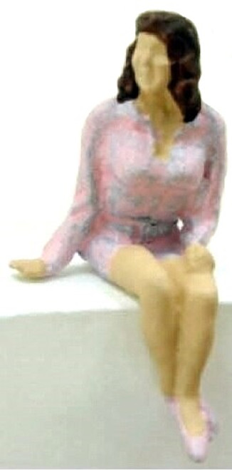 Arttista Accessories O 1117 Sitting Young Woman
