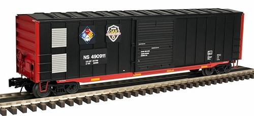 "Atlas Trainman O 2001042-1 ACF 50' 6"" Box Car, Norfolk Southern ""First Responders Training"" #490411 (3-Rail)"