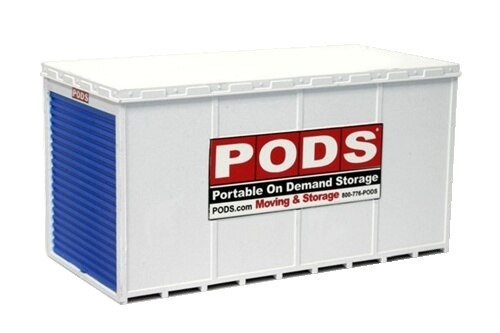 BLMA N 615 PODS Shipping Containers with Roll-up Door (2)