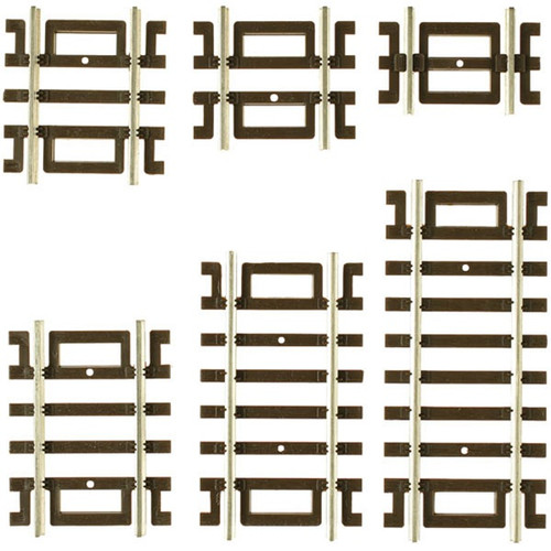 Atlas HO 524 Code 83 Straight Track Assortment (12)