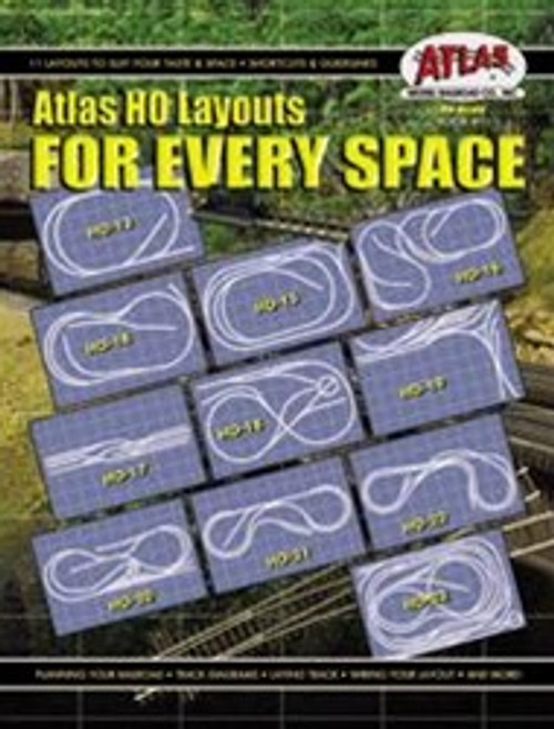 Atlas HO Layouts for Every Space, Book #11