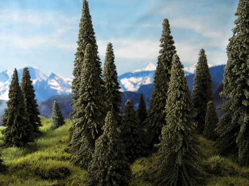 """Grand Central Gems T7 Pine Trees, 11"""" (3)"""