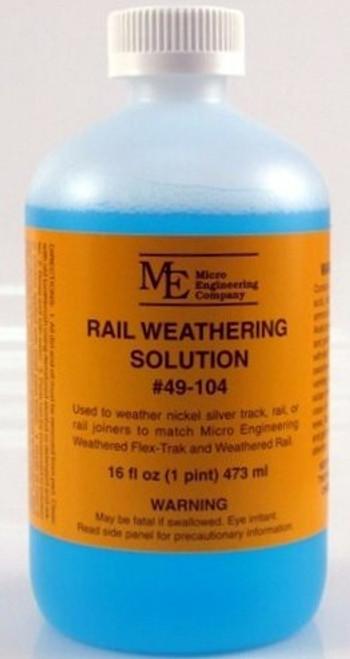 Micro Engineering 49-104 Rail Weathering Solution (16 fl. oz.)