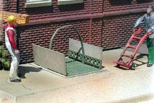 Bar Mills Scale Model Works HO 0401 Sidewalk Elevator Kit