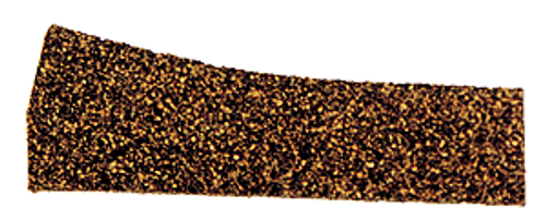 Itty Bitty Lines N 1340 Precut Cork Roadbed Section, Right Hand Turnout, Small and Medium Radius (2)