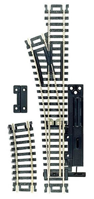 Atlas HO 860 Code 100 Left Hand Manual Snap-Switch Track
