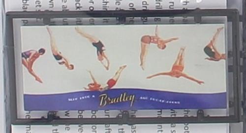 "Tichy Train Group HO 8448 Billboard Kit, Bradley Swimsuits ""Slip into a..."""