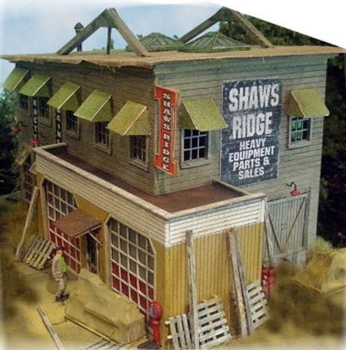 Bar Mills Scale Model Works HO 0532 Shaw's Ridge Equipment and Supply Kit (d)