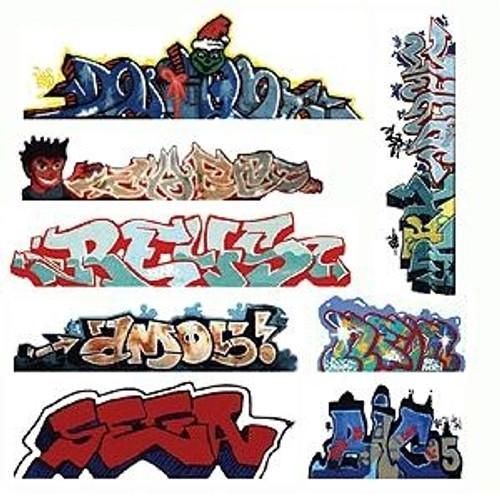 Blair Line HO 2246 Graffiti Decals Mega Set, Set #3 (8)