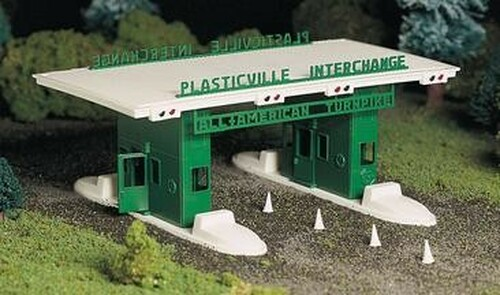 Bachmann Plasticville O 45601 Turnpike Interchange Kit