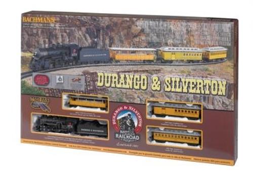 Bachmann HO 00710 Durango and Silverton Train Set with E-Z Track