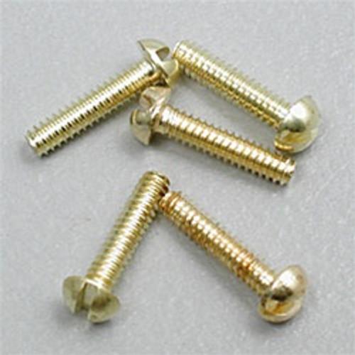 "Hob-Bits H815 Round Head Screws Size: 2-56 Length: 3/8"" (5-Pack)"