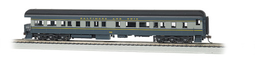 Bachmann HO 13803 72' Heavyweight 3-2 Observation Car with LED Lighted Interior, Baltimore and Ohio #901