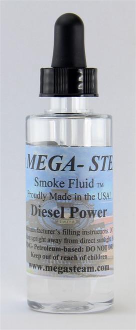 JT's Mega Steam O/HO DIESEL Smoke Fluid 2 Oz. Bottle, Diesel