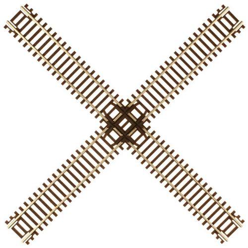 Atlas N 2045 Code 55 Track 90-Degree Crossing