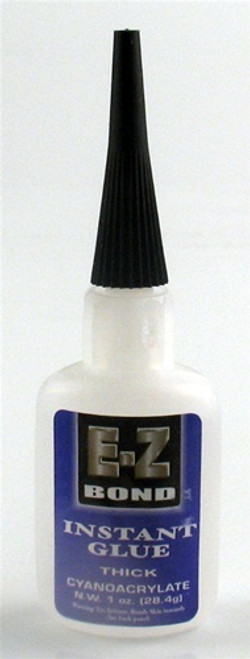 E-Z Bond Instant Glue Thick 0.5 oz.