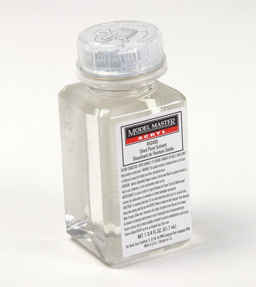 Testors 50495 Acrylic Dried Paint Cleaner, 1-3/4 oz.