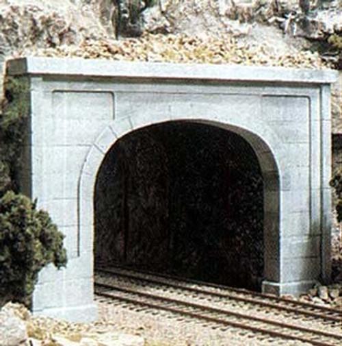 Woodland Scenics N C1156 Concrete Double Track Tunnel Portal (2)