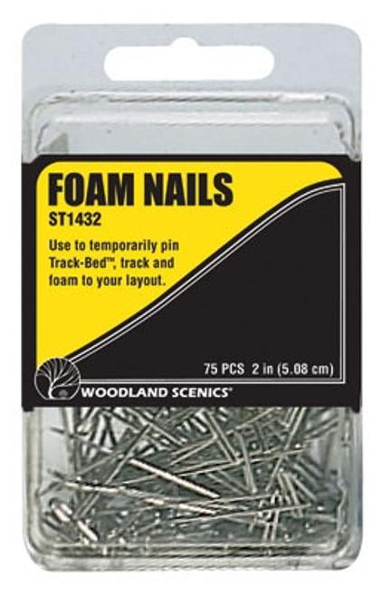 Woodland Scenics ST1432 Foam Nails (75)