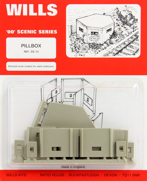 Wills Modern by Peco OO/HO SS74 Pillbox Kit