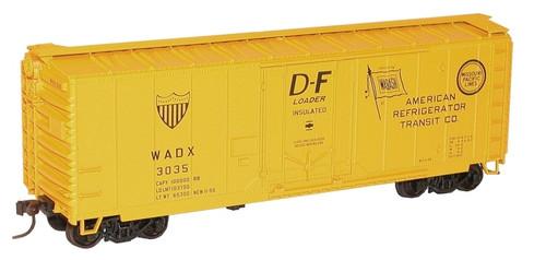 Accurail HO 3125 40' Plug Door Box Car Kit, Wabash #3035