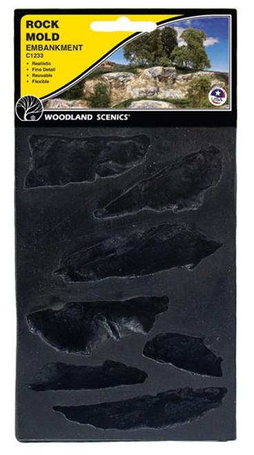 Woodland Scenics C1233 Embankments Rock Mold