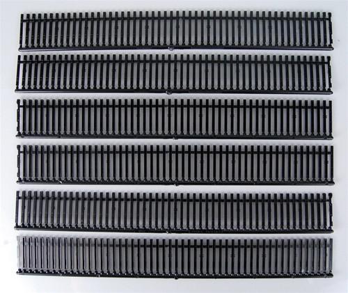 Central Valley Model Works HO 2001-6 Curvable 9' Mainline Tie Sampler
