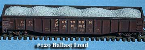 Fine N Scale 120 Ballast and Gravel Loads for 50' Micro-Trains and Athearn (3)