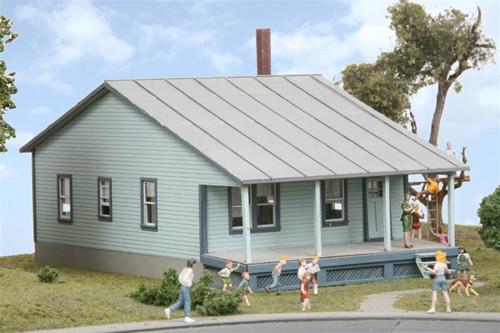 American Model Builders HO 126 Mrs. Williams House Kit