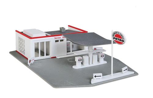 Walthers Trainline HO 931-920 Gas Station Kit